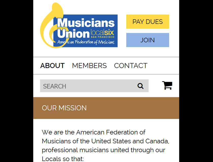 Musicians Union Local 6